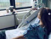 """نيللى كريم للأطباء المعالجين لها : """" شكرا أنقذتوا حياتى """""""