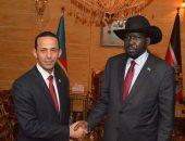 سفير مصر الجديد فى جوبا يقدم أوراق اعتماده لرئيس جنوب السودان
