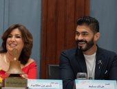 """خالد سليم يحتفل بنجاح """"بلا دليل"""" بنادى روتارى الإسكندرية (صور)"""