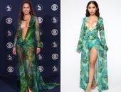 فيرزاتشى تقاضى علامة أزياء أمريكية بسبب سرقة فستان جينيفر لوبيز الشهير