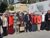 وزارة الطيران تشارك فى حملة 100 مليون صحة لدعم المرأة