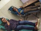 طلاب كلية صيدلة بنين جامعة الأزهر يطلقون حملة للتبرع بالدم