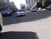 فيديو.. سيولة مرورية بميدان رمسيس للمتجه إلى شرق القاهرة