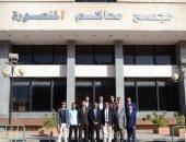 كلية الشريعة والقانون بجامعة الأزهر طنطا تنظم زيارة للطلاب لمحكمة جنايات المنصورة