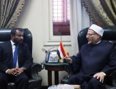 المفتى يستقبل وزير تعليم جزر المالديف لتعزيز التعاون الدينى
