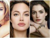 8 نجمات مشهورات بالشفاه الجميلة ..أنجلينا جولى وآن هاثاوى أبرزهن