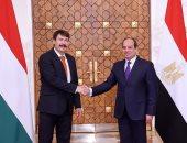 صور..السيسى: سعدت باستقبال رئيس المجر خلال زيارته لمصر فى إطار تعزيز التعاون