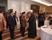 نائب رئيس الجمهورية الإندونيسى يشيد بجهود الأزهر الشريف لإرساء قواعد السلام