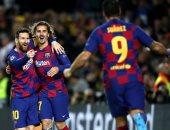أهداف الأربعاء.. ثلاثية برشلونة وتعادل ليفربول ونابولي بدوري الأبطال