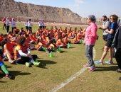 اليوم ..ختام دورة مدربات كرة القدم النسائية تحت إشراف الاتحاد النرويجي