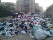 شكوى من انتشار القمامة بمنطقة زهراء مدينة نصر
