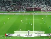 علاء عبد الزهرة يحرز ثاني أهداف العراق ضد الإمارات.. فيديو