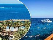 """""""خليج مكادى"""" أجمل خلجان البحر الأحمر.. يضم مجموعة من الفنادق وزواره من راغبى الاستجمام.. والأوروبيون يفضلونه خاصة الألمان والفرنسيين.. يحتضن مزارا سياحيا يضم مصغرات لمعالم مصر.. ومجسمات للمعابد وقناة السويس"""