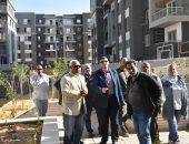 مساعد نائب وزير الإسكان يتفقد مشروعات مدينة القاهرة الجديدة