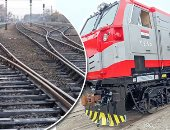 السكة الحديد تنقل الجرارات الأمريكية الجديدة من الأسكندرية إلى ورش القاهرة