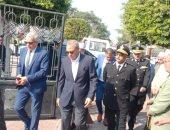 محافظ القليوبية الجديد يصل ديوان المحافظة ويؤدى صلاة الجمعة بمسجد ناصر ببنها