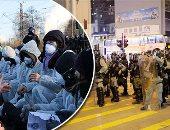 صور.. العالم هذا المساء.. آلاف الجزائريين يتظاهرون احتجاجا على تدخل البرلمان الأوروبى فى شئونهم.. أرباب معاشات وطلبة مدارس ينظمون احتجاجا فى هونج كونج.. متظاهرون فى ألمانيا يحتجون على استراتيجية بشأن المناخ