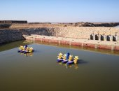 """""""الحزام الآمن"""".. تجربة لتقليل التلوث وتحسين نوعية المياه فى بحيرة قارون"""