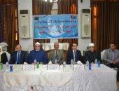محافظ الإسماعيلية يلتقى الأئمة والمشايخ وقيادات الأوقاف بالمجمع الإسلامى