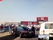 مصرع سيدة صدمتها سيارة أثناء عبورها الطريق بمدينة حدائق الأهرام
