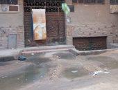 قارئ يشكو سوء حال الصرف الصحى بشارع فلسطين بالصف فى الجيزة