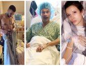 نجوم طمأنوا جمهورهم على حالتهم الصحية من المستشفيات.. آخرهم فرنش مونتانا