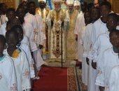 الانبا اكليمندس يعين شمامسة سودانيين لكنائس شرق مدينة نصر