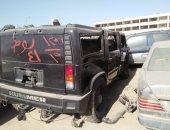 """شاهد السيارات المخزنة بـ""""مطار القاهرة"""" والمعروضة فى مزاد علنى 11 ديسمبر"""