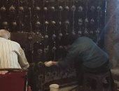 """""""آثار الإسكندرية """": ترميم الابواب الرئيسية بقلعة قايتباى.. صور"""
