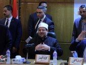 وزير الأوقاف يلتقى صديق تاور كافى عضو مجلس السيادة بالسودان