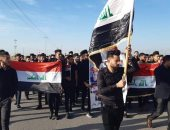 محتجون عراقيون يغلقون البوابة الرئيسية لميناء المعقل وسط البصرة