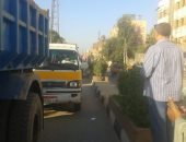 تحرير مخالفات للنقل الثقيل بأسوان بسبب الحمولة الزائدة