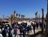 صور.. البيئة: محمية وادى الريان تستقبل أكثر من 6170 زائرًا