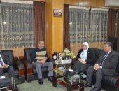 محافظ الإسماعيلية الجديد يستقبل رئيس جامعة قناة السويس