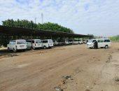 بدء تنفيذ مواقف سيارات الرحمانية بالبحيرة بتكلفة مليون و700 ألف جنيه