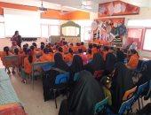 صور.. القومى للمرأة بالأقصر ينظم ندوات توعية بالمدارس لمناهضة العنف ضد المرأة