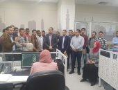طلاب كلية الدراسات الإسلامية والعربية يزورون مركز فتوى الأزهر.. صور