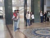 فيديو.. متظاهرون لبنانيون يقتحمون قصر العدل بلبنان للتحقيق فى قضايا فساد