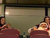 """""""فرحان بفريق مستورد"""".. حمد بن خليفة القطرى بيشجع منتخب المجنسين فى كأس الخليج"""