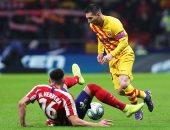 شاهد ملخص مباراة أتلتيكو مدريد ضد برشلونة فى الدورى الإسبانى