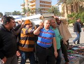 تشييع جثمان شعبان عبد الرحيم من  مسجد السيدة نفيسة