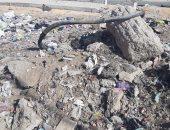 شكوى من تراكم القمامة وانتشار الكابلات المكشوفة بمنطقة حو الجزيرة بالزقازيق