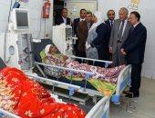 محافظ الإسكندرية يقوم بزيارة مفاجئة لمستشفى العامرية العام.. صور