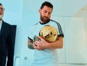 ميسي: حزنت كثيرا عندما تساوى معي كريستيانو فى جوائز الكرة الذهبية