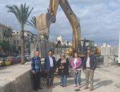 السياحة والمصايف: إعادة توزيع التشوينات على كورنيش البحر بالمنشية