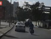 """فيديو.. تعرف على الحركة المرورية بكورنيش النيل """"شبرا – التحرير"""""""