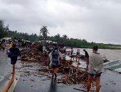 """ارتفاع حصيلة ضحايا إعصار """"كامورى"""" فى الفلبين إلى 4 قتلى"""