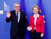 صور.. انطلاق مراسم تسليم رئيسة المفوضية الأوروبية الجديد منصبها