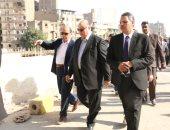 محافظ القاهرة يتفقد أعمال تطوير سوق المواردى بالسيدة زينب
