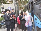 صور.. نادى ضباط شرطة القاهرة يستقبل طلاب ذوى الإعاقة للاحتفال باليوم العالمى